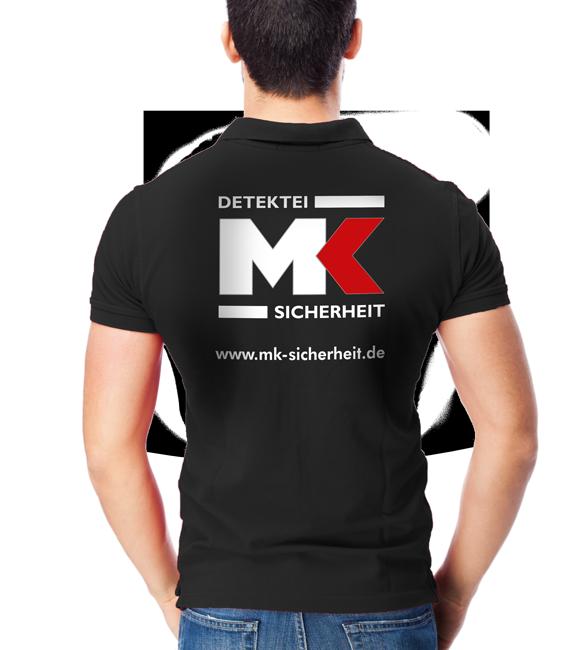 MK Detektei & Sicherheit Shirt
